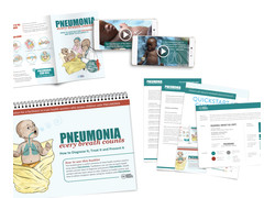 Pneumonia Education - African Muslim English - Health Worker Kit